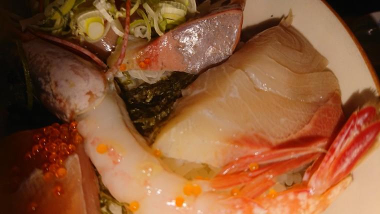 普通海鮮丼